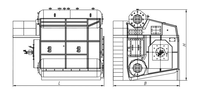 Схемы с котлом де-16-14